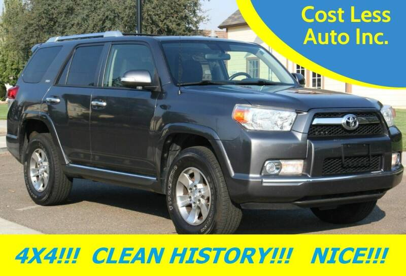 2013 Toyota 4Runner for sale at Cost Less Auto Inc. in Rocklin CA