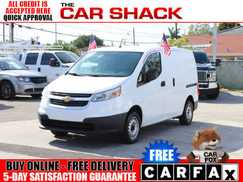 2015 Chevrolet City Express Cargo for sale at The Car Shack in Hialeah FL