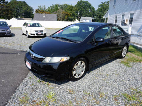 2011 Honda Civic for sale at Colonial Motors in Mine Hill NJ