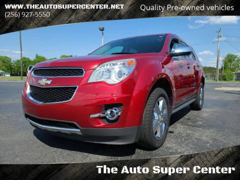 2014 Chevrolet Equinox for sale at The Auto Super Center in Centre AL