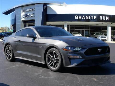 2019 Ford Mustang for sale at GRANITE RUN PRE OWNED CAR AND TRUCK OUTLET in Media PA