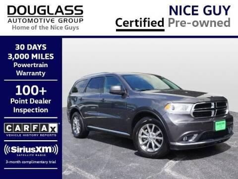 2017 Dodge Durango for sale at Douglass Automotive Group - Douglas Mazda in Bryan TX