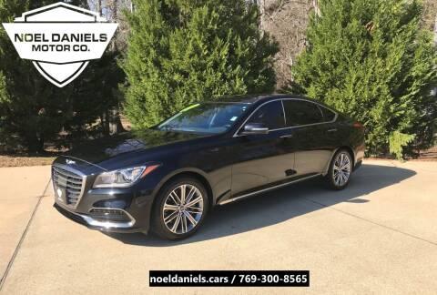 2018 Genesis G80 for sale at Noel Daniels Motor Company in Brandon MS