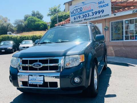 2008 Ford Escape for sale at MotorMax in Lemon Grove CA