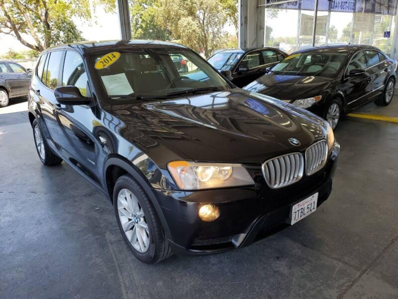 2014 BMW X3 for sale at Sac River Auto in Davis CA