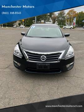 2014 Nissan Altima for sale at Manchester Motors in Manchester CT