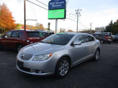 2012 Buick LaCrosse for sale at Mill Street Motors in Worcester MA