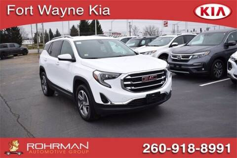 2020 GMC Terrain for sale at BOB ROHRMAN FORT WAYNE TOYOTA in Fort Wayne IN