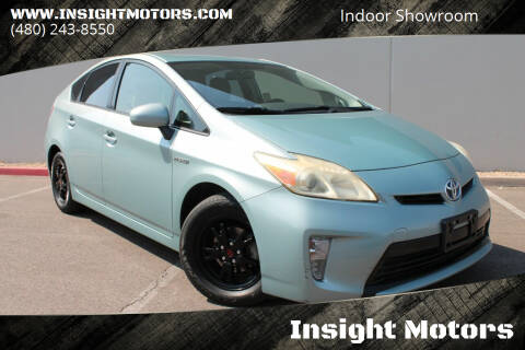 2012 Toyota Prius for sale at Insight Motors in Tempe AZ