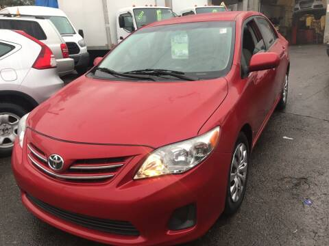 2013 Toyota Corolla for sale at Deleon Mich Auto Sales in Yonkers NY
