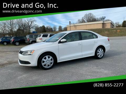 2012 Volkswagen Jetta for sale at Drive and Go, Inc. in Hickory NC