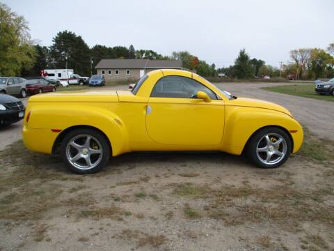 2003 Chevrolet SSR for sale at D & T AUTO INC in Columbus MN