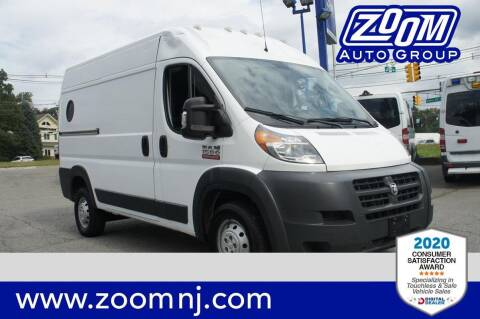 2018 RAM ProMaster Cargo for sale at Zoom Auto Group in Parsippany NJ