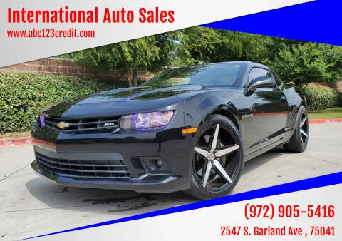 2014 Chevrolet Camaro for sale at International Auto Sales in Garland TX