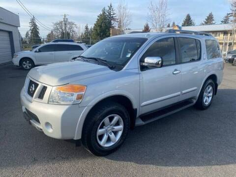 2012 Nissan Armada for sale at TacomaAutoLoans.com in Lakewood WA