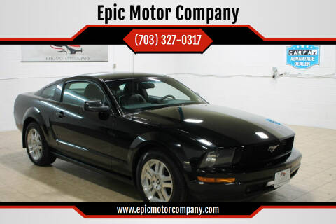 2007 Ford Mustang for sale at Epic Motor Company in Chantilly VA