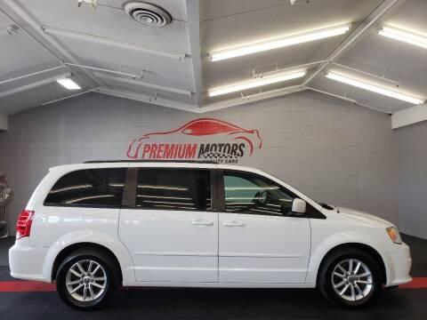 2014 Dodge Grand Caravan for sale at Premium Motors in Villa Park IL