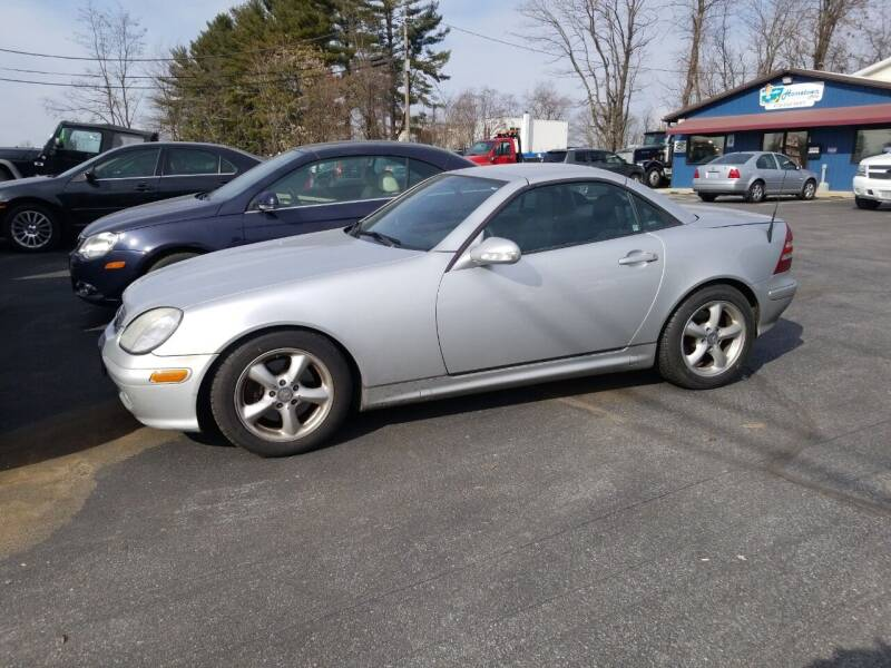 2001 Mercedes-Benz SLK for sale at Hometown Auto Repair and Sales in Finksburg MD