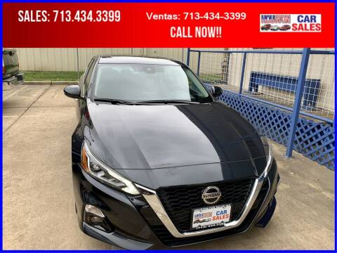 2020 Nissan Altima for sale at HOUSTON CAR SALES INC in Houston TX