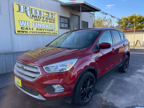2019 Ford Escape for sale at Rock Motors LLC in Victoria TX