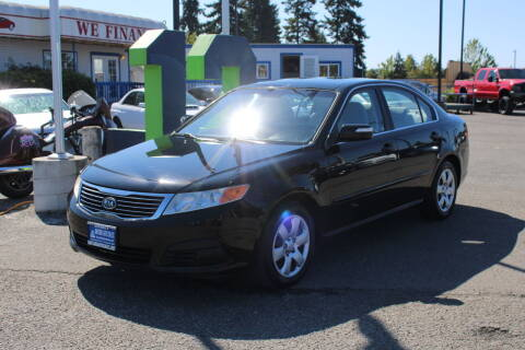 2009 Kia Optima for sale at BAYSIDE AUTO SALES in Everett WA