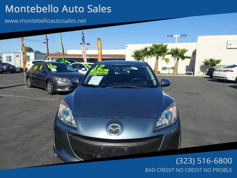 2012 Mazda MAZDA3 for sale at Montebello Auto Sales in Montebello CA