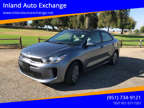 2019 Kia Rio for sale at Inland Auto Exchange in Norco CA