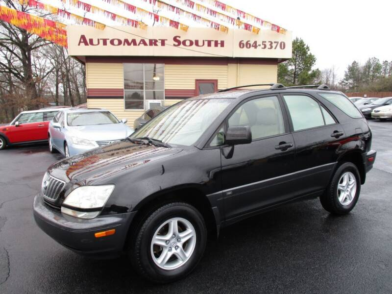 2001 Lexus RX 300 for sale at Automart South in Alabaster AL