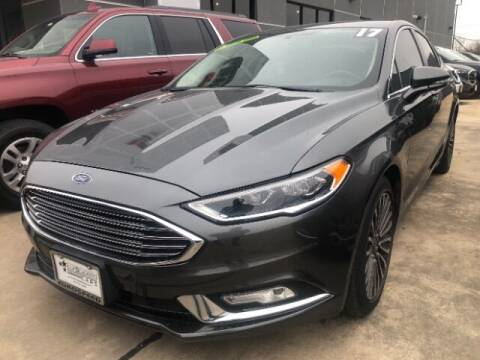 2017 Ford Fusion for sale at Eurospeed International in San Antonio TX