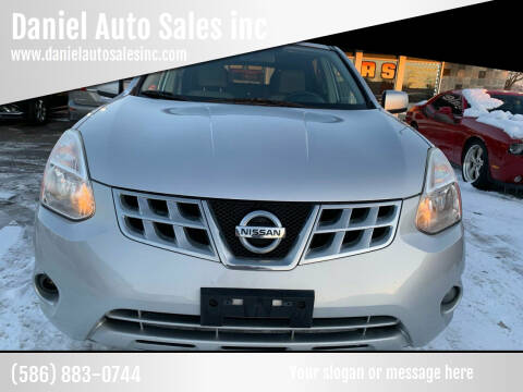 2012 Nissan Rogue for sale at Daniel Auto Sales inc in Clinton Township MI