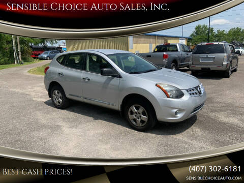 2014 Nissan Rogue Select for sale at Sensible Choice Auto Sales, Inc. in Longwood FL