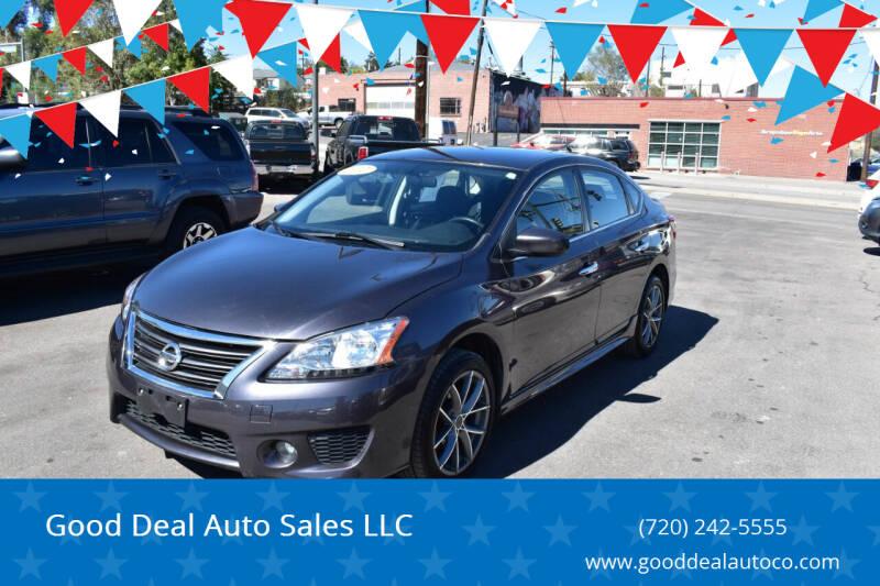 2014 Nissan Sentra for sale at Good Deal Auto Sales LLC in Denver CO