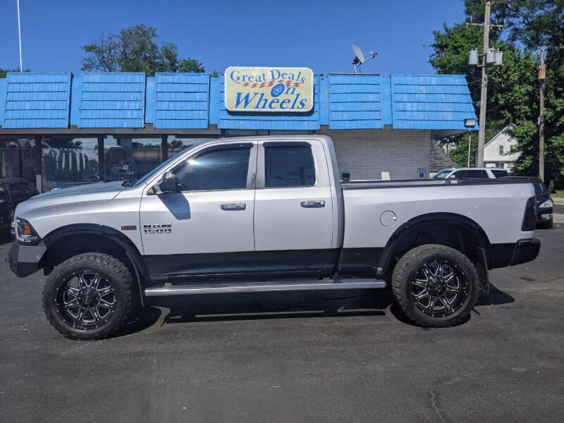 2014 RAM Ram Pickup 1500 for sale at GREAT DEALS ON WHEELS in Michigan City IN