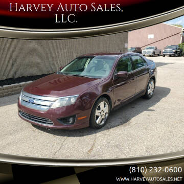 2011 Ford Fusion for sale at Harvey Auto Sales, LLC. in Flint MI