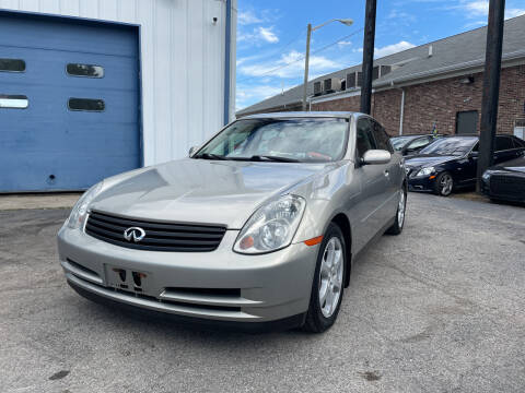 2003 Infiniti G35 for sale at Pulse Autos Inc in Indianapolis IN