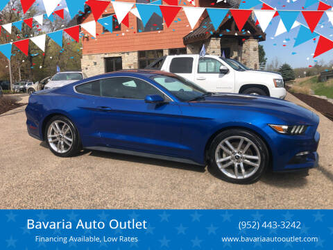 2017 Ford Mustang for sale at Bavaria Auto Outlet in Victoria MN