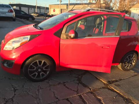 2014 Chevrolet Spark for sale at El Rancho Auto Sales in Des Moines IA
