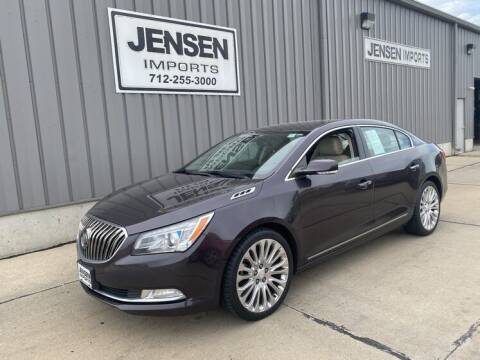 2015 Buick LaCrosse for sale at Jensen's Dealerships in Sioux City IA