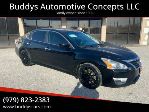2015 Nissan Altima for sale at Buddys Automotive Concepts LLC in Bryan TX