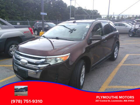 2012 Ford Edge for sale at Plymouthe Motors in Leominster MA