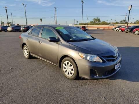 2013 Toyota Corolla for sale at Mid Valley Motors in La Feria TX