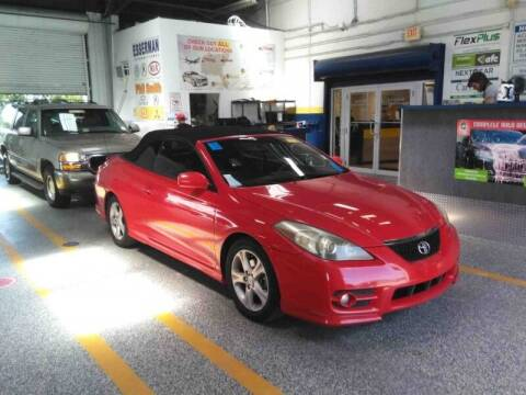 2008 Toyota Camry Solara for sale at M.D.V. INTERNATIONAL AUTO CORP in Fort Lauderdale FL