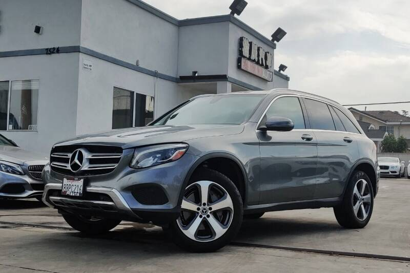 2018 Mercedes-Benz GLC for sale at Fastrack Auto Inc in Rosemead CA