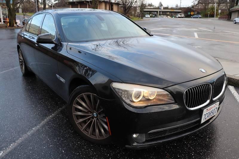 2011 BMW 7 Series for sale at California Auto Sales in Auburn CA