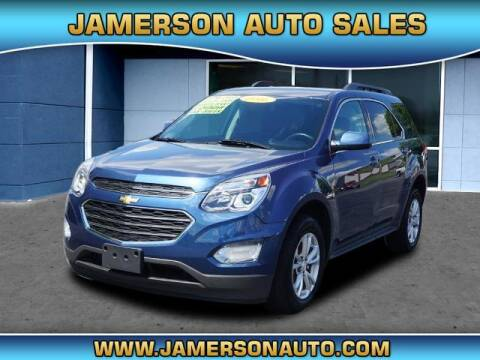 2016 Chevrolet Equinox for sale at Jamerson Auto Sales in Anderson IN