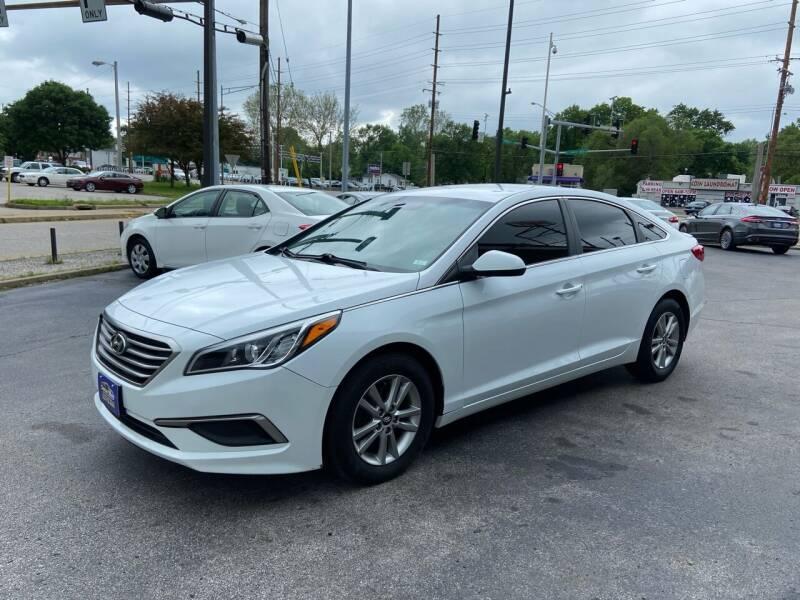 2017 Hyundai Sonata for sale at Smart Buy Car Sales in St. Louis MO