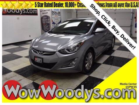 2015 Hyundai Elantra for sale at WOODY'S AUTOMOTIVE GROUP in Chillicothe MO