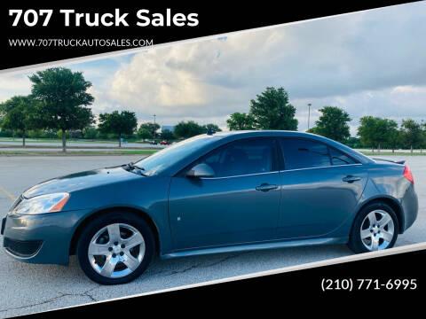 2009 Pontiac G6 for sale at 707 Truck Sales in San Antonio TX