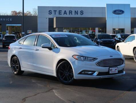 2018 Ford Fusion for sale at Stearns Ford in Burlington NC