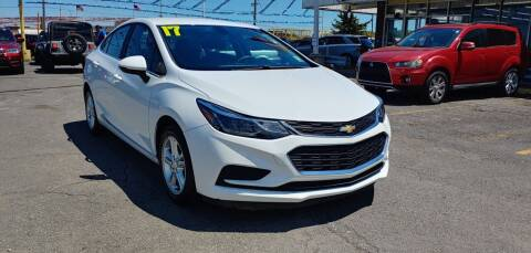 2017 Chevrolet Cruze for sale at I-80 Auto Sales in Hazel Crest IL